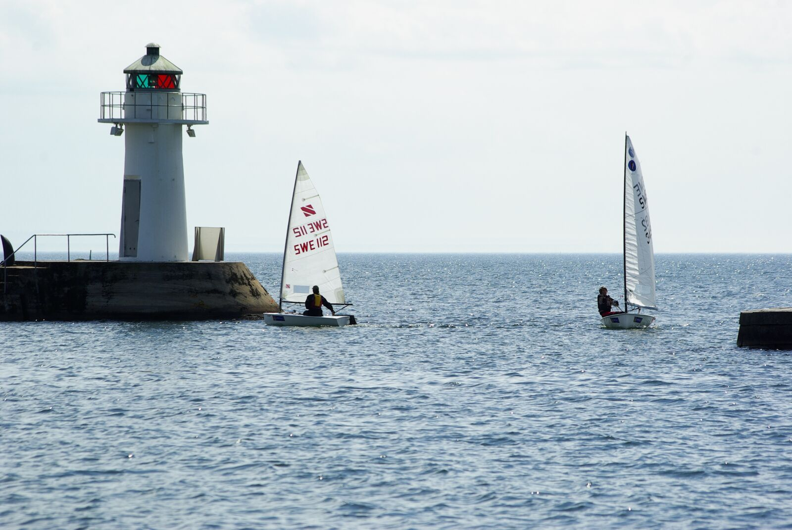 """Pentax K10D sample photo. """"Hjo, sailing boats, competition"""" photography"""