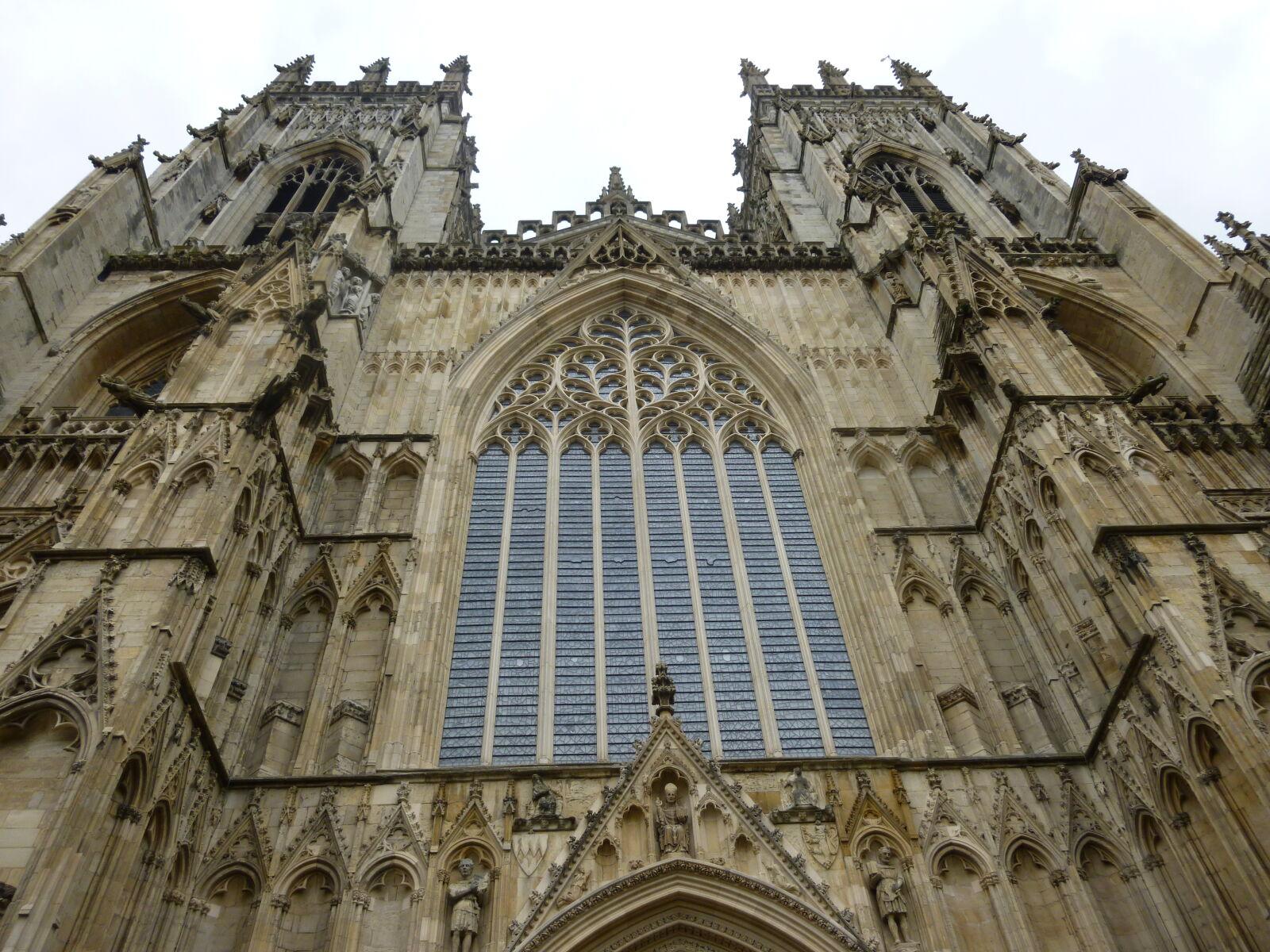 "Panasonic DMC-SZ3 sample photo. ""Cathedral, christian, stone, york"" photography"