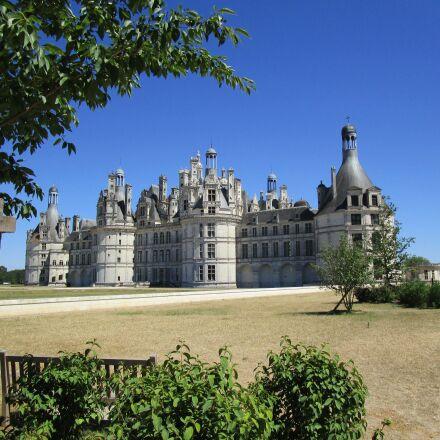 france, chambord, castle, Canon IXUS 155