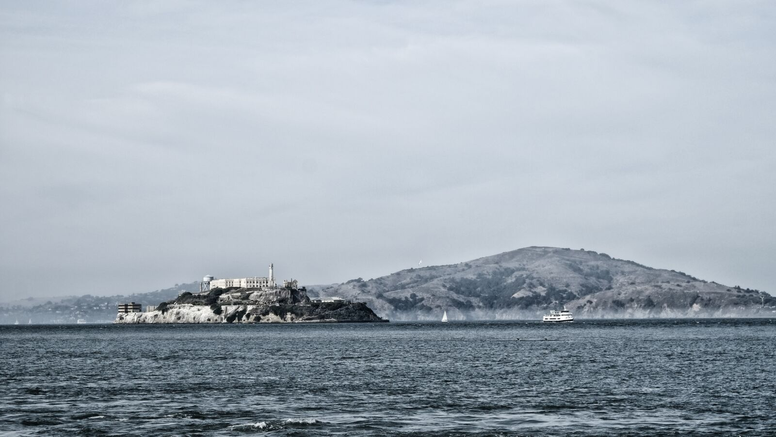 "Fujifilm X-Pro1 sample photo. ""San francisco, alcatraz, prison"" photography"