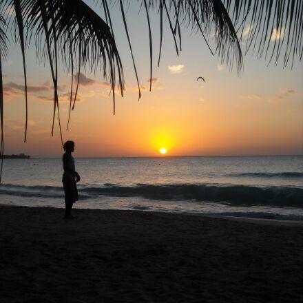 jamaica, sunset, beach, Nikon COOLPIX L18