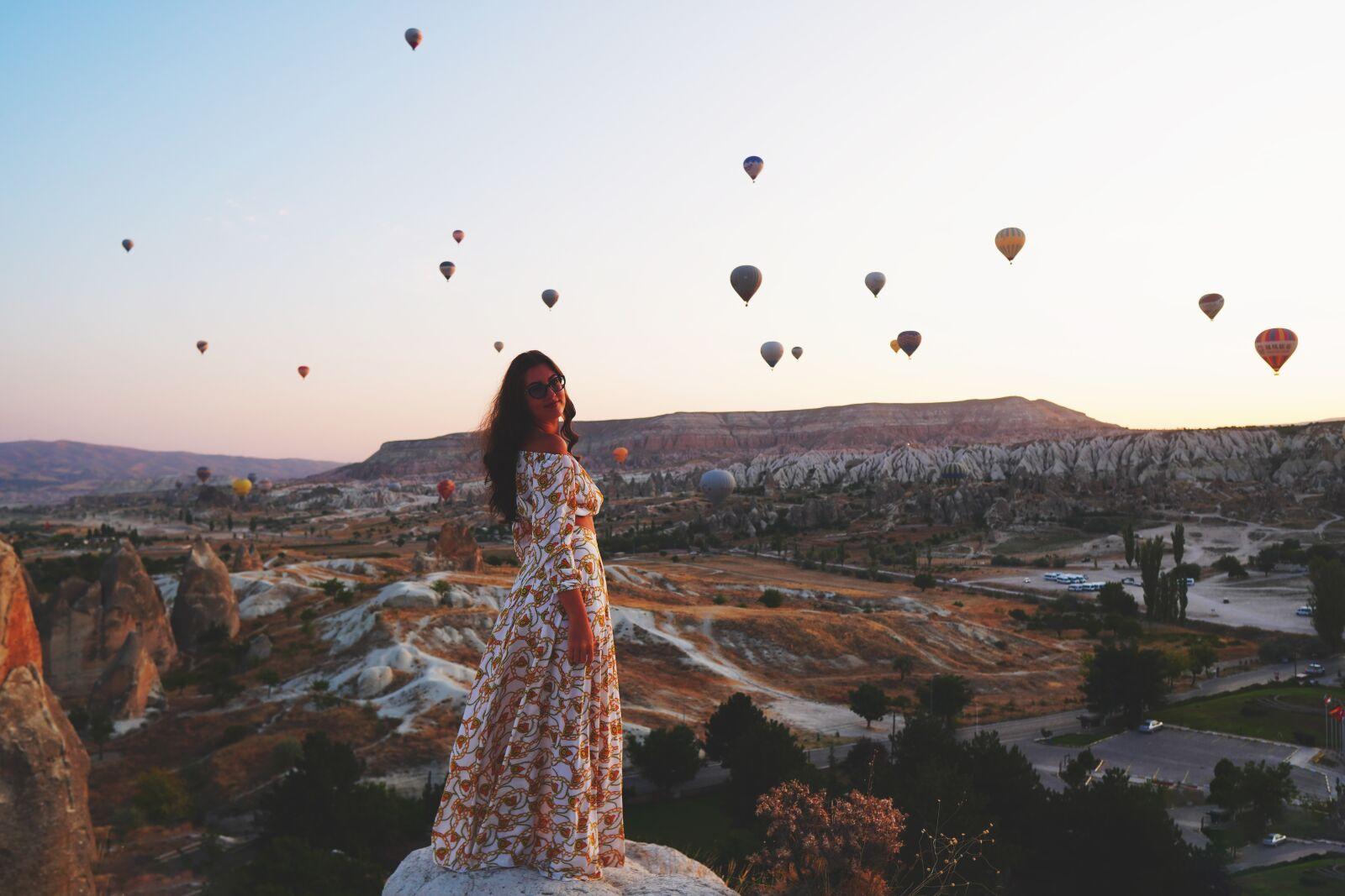 """Sony a6400 sample photo. """"Cappadocia, hot air balloon"""" photography"""