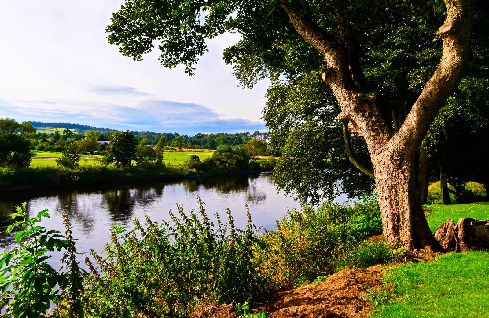 "Nikon D5100 sample photo. ""River, dee, rivers, scotland"" photography"