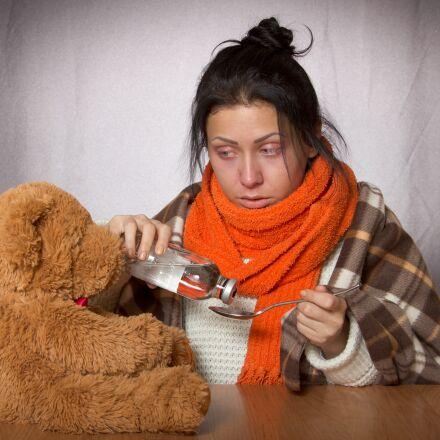 girl, flu, medication, Canon EOS REBEL T2I