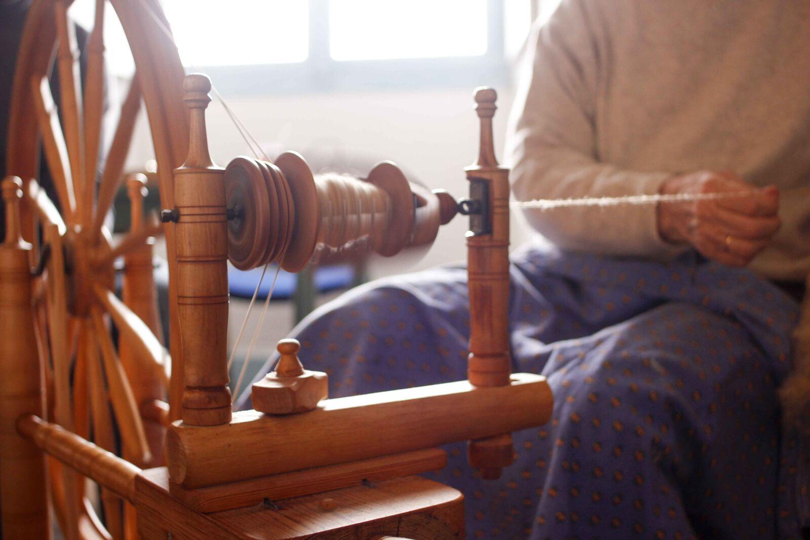loom, weaving, thread