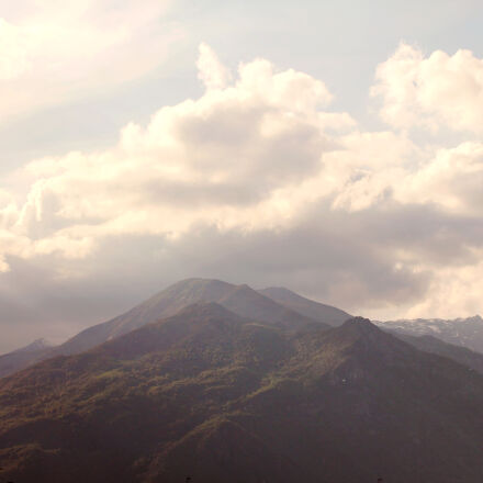 clouds, cloudy, italy, mountains, Canon EOS 60D