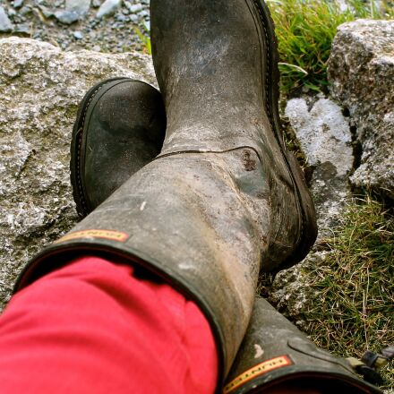 wellies, red, rest, Canon EOS 1100D