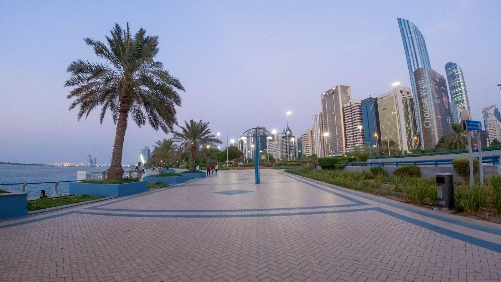"DJI OSMO ACTION sample photo. ""Beach, city, building"" photography"