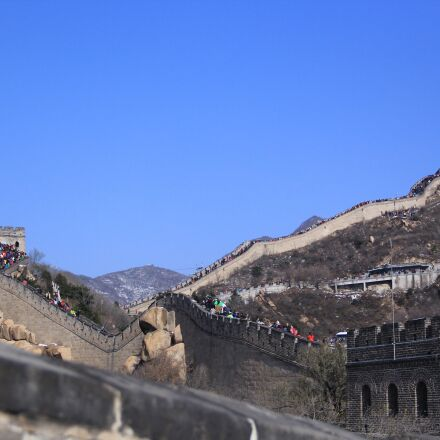 china, the great wall, Canon EOS 60D