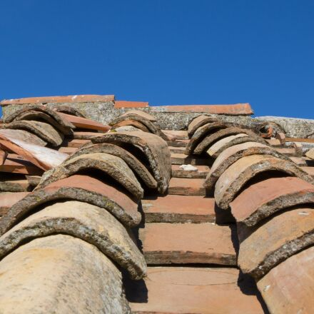 roof, tiles, house, Canon EOS 70D