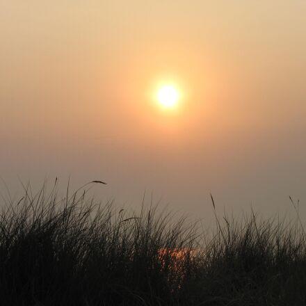 sun, morning, sunrise, Canon POWERSHOT SX1 IS