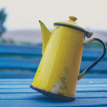 macro, table, teapot, Pentax K-7