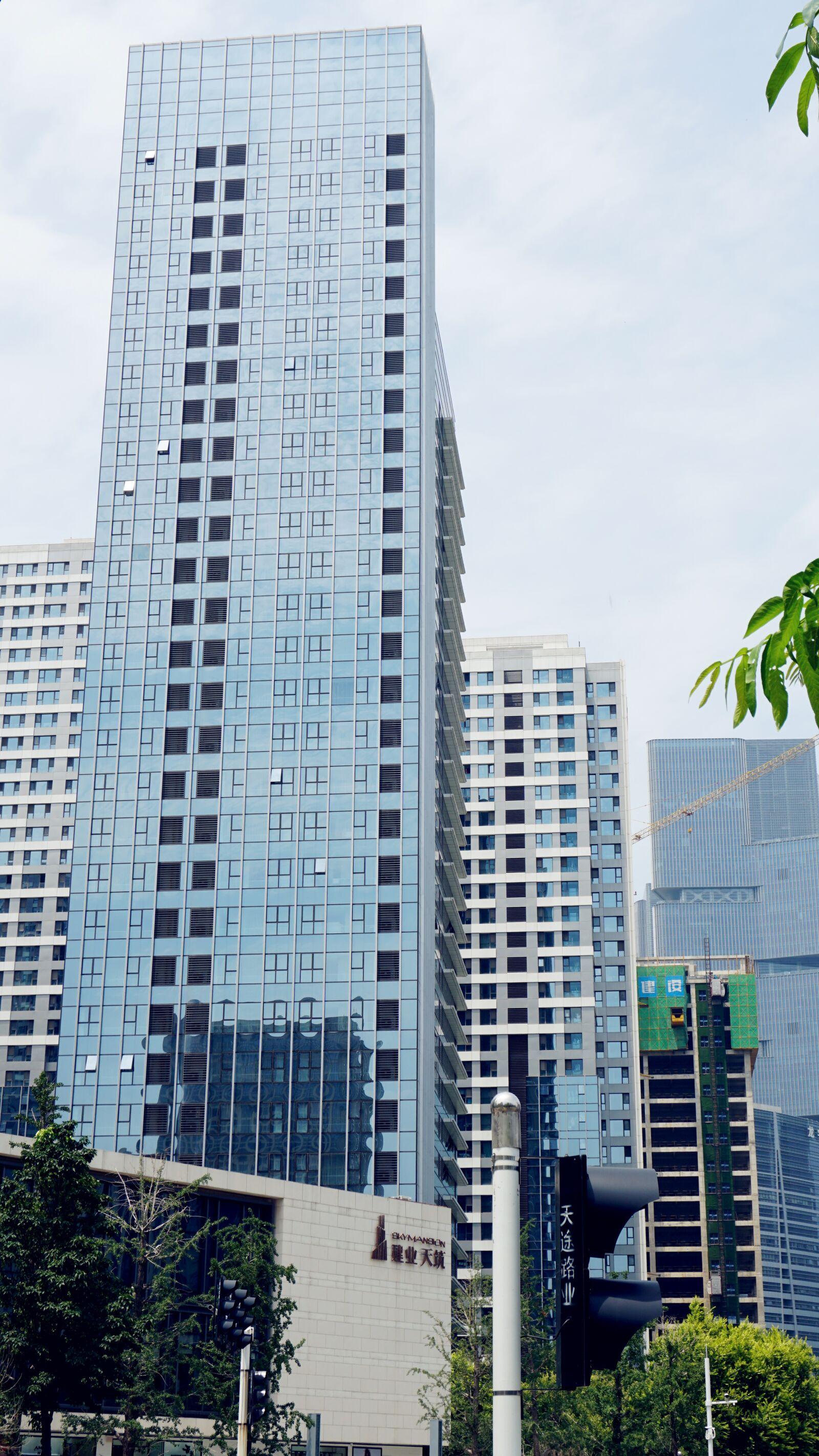 "Sony a6300 sample photo. ""Tall buildings, fashion, tianzhu"" photography"