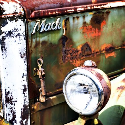 color, old truck, rusty, Canon EOS 7D