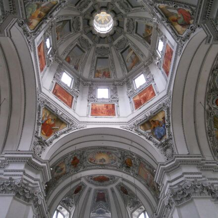 dom, salzburg, church, Nikon COOLPIX S4000