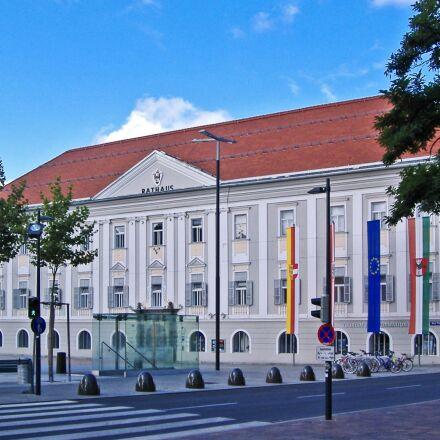 klagenfurt, town hall, state, Fujifilm FinePix A345