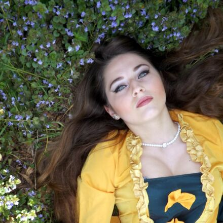girl, dress, residence, Fujifilm FinePix S4500