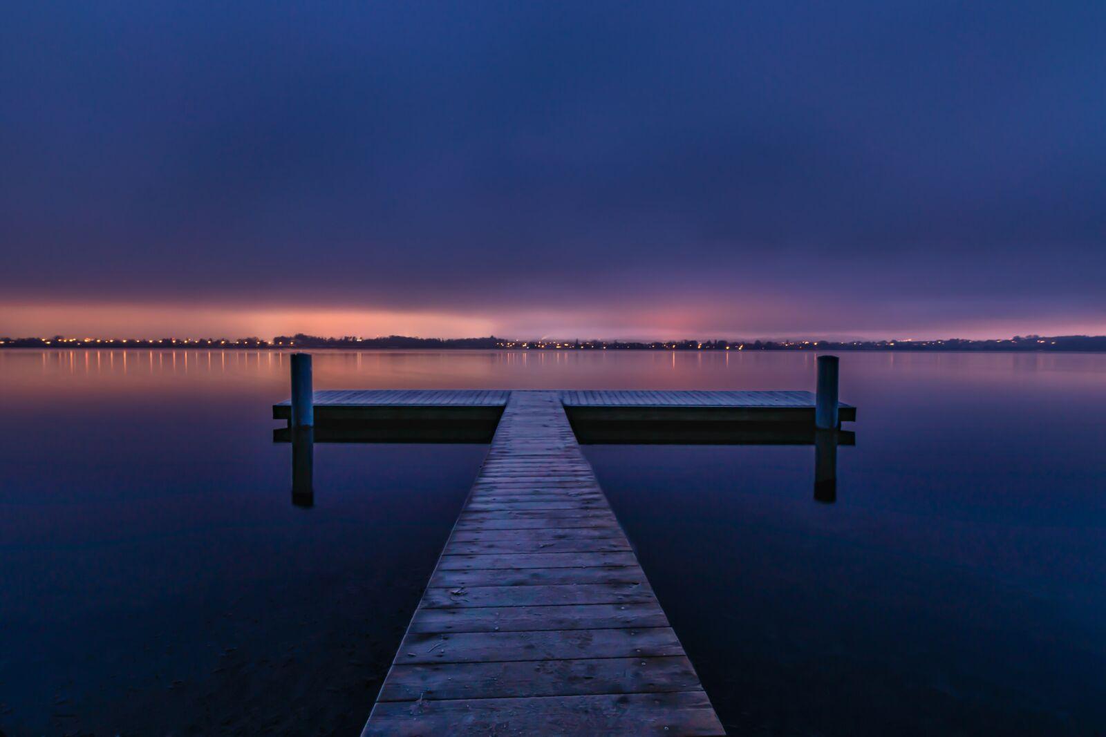 "Nikon D850 sample photo. ""Morning, lake, web"" photography"