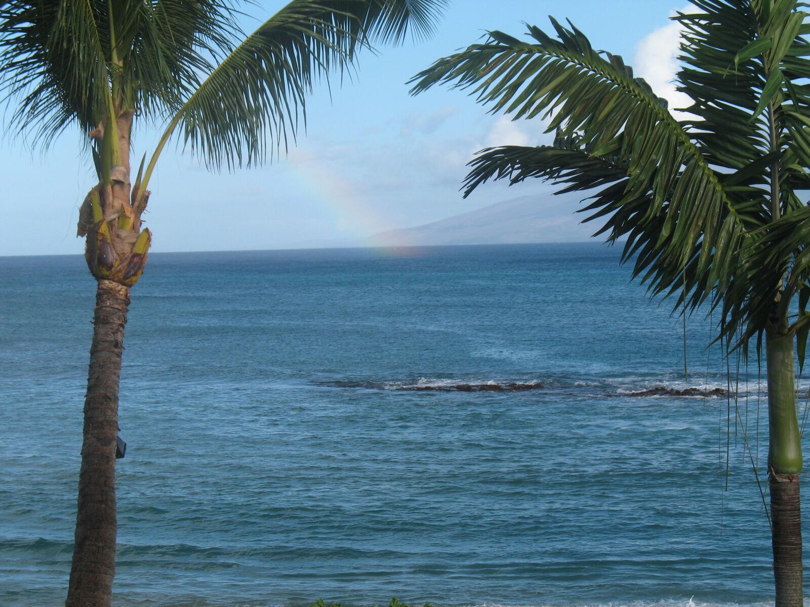 "Canon POWERSHOT A620 sample photo. ""Ocean, rainbow"" photography"