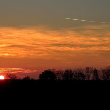 sunset, sky, cloud, Canon EOS 700D
