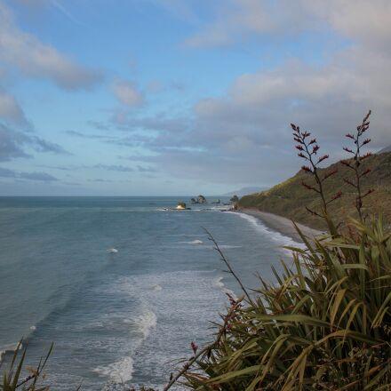 new zealand, cloud, coastline, Canon EOS 5D MARK III