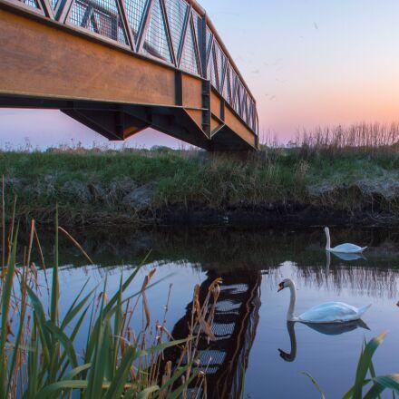 water, reflection, lake, Nikon D3200