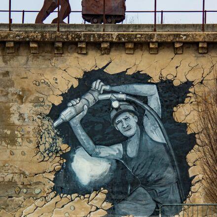graffiti, tag, paint, Pentax K10D