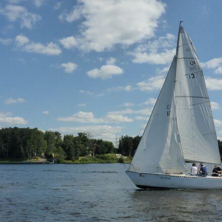 sails, regatta, boat, Panasonic DMC-FT5