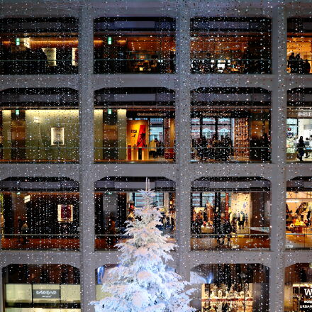 building, christmas, decoration, shopping, Canon EOS 5D MARK II