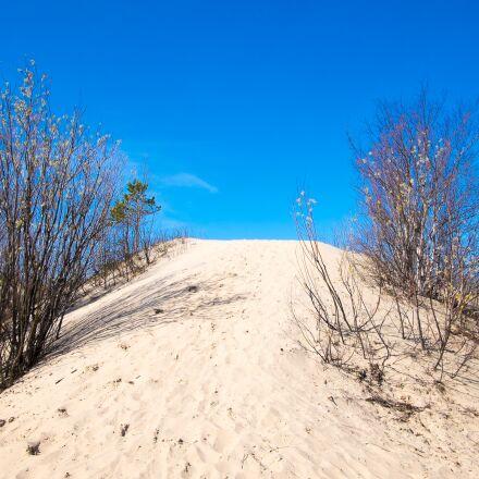 sky, sand, dune, Fujifilm X-T1