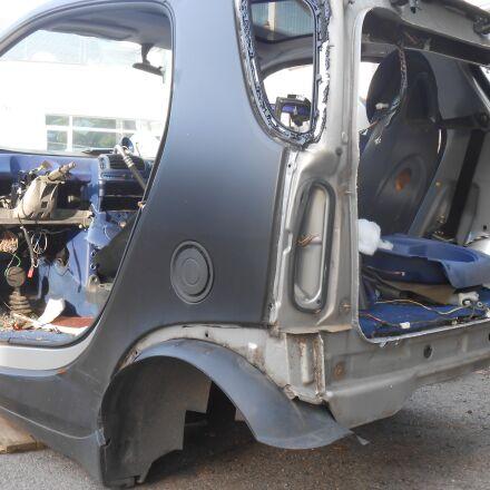 elv, scrap car, smart, Nikon COOLPIX S2750