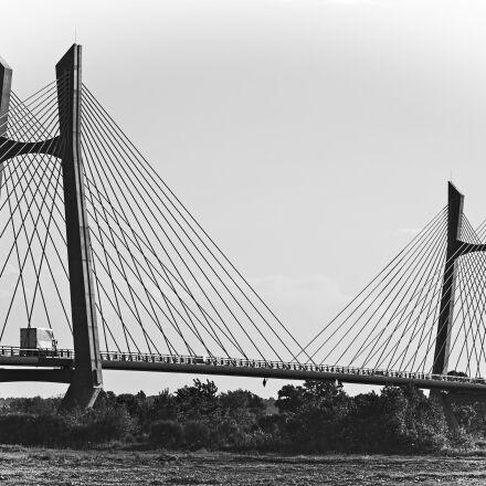 bridge, building, city, construction, Nikon D7000