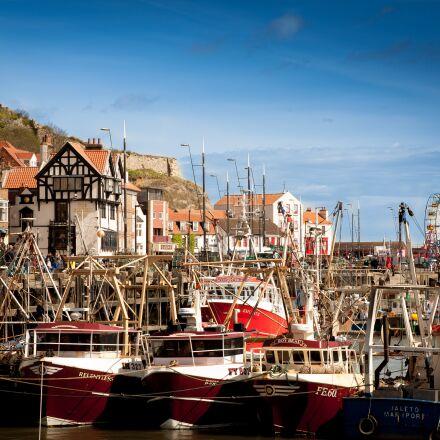 scarborough, seaside, sea, Canon EOS 5D