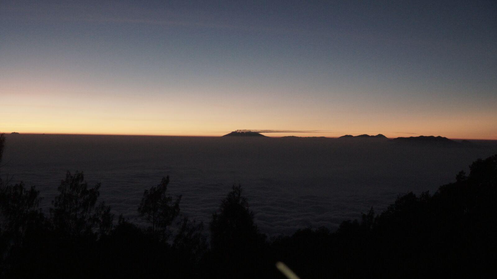 "Sony a6300 sample photo. ""Mountain, nature, dusk"" photography"