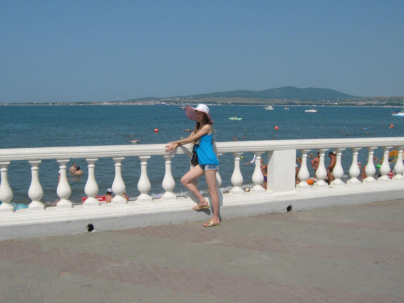 "Canon PowerShot A470 sample photo. ""Girl, summer, vacation"" photography"