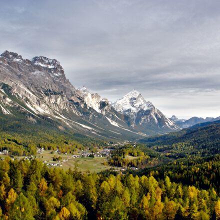 mountain range, mountains, nature, Nikon 1 V1