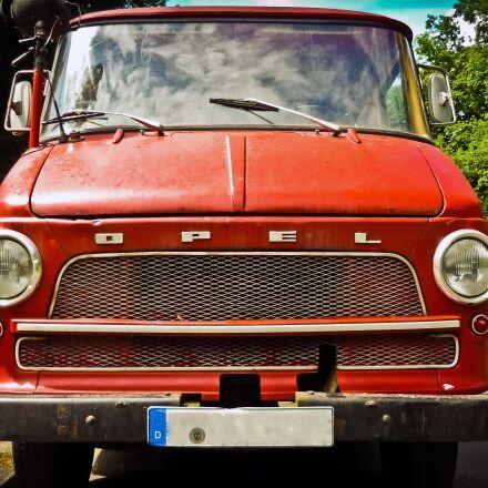 auto, opel, oldtimer, Panasonic DMC-FS3