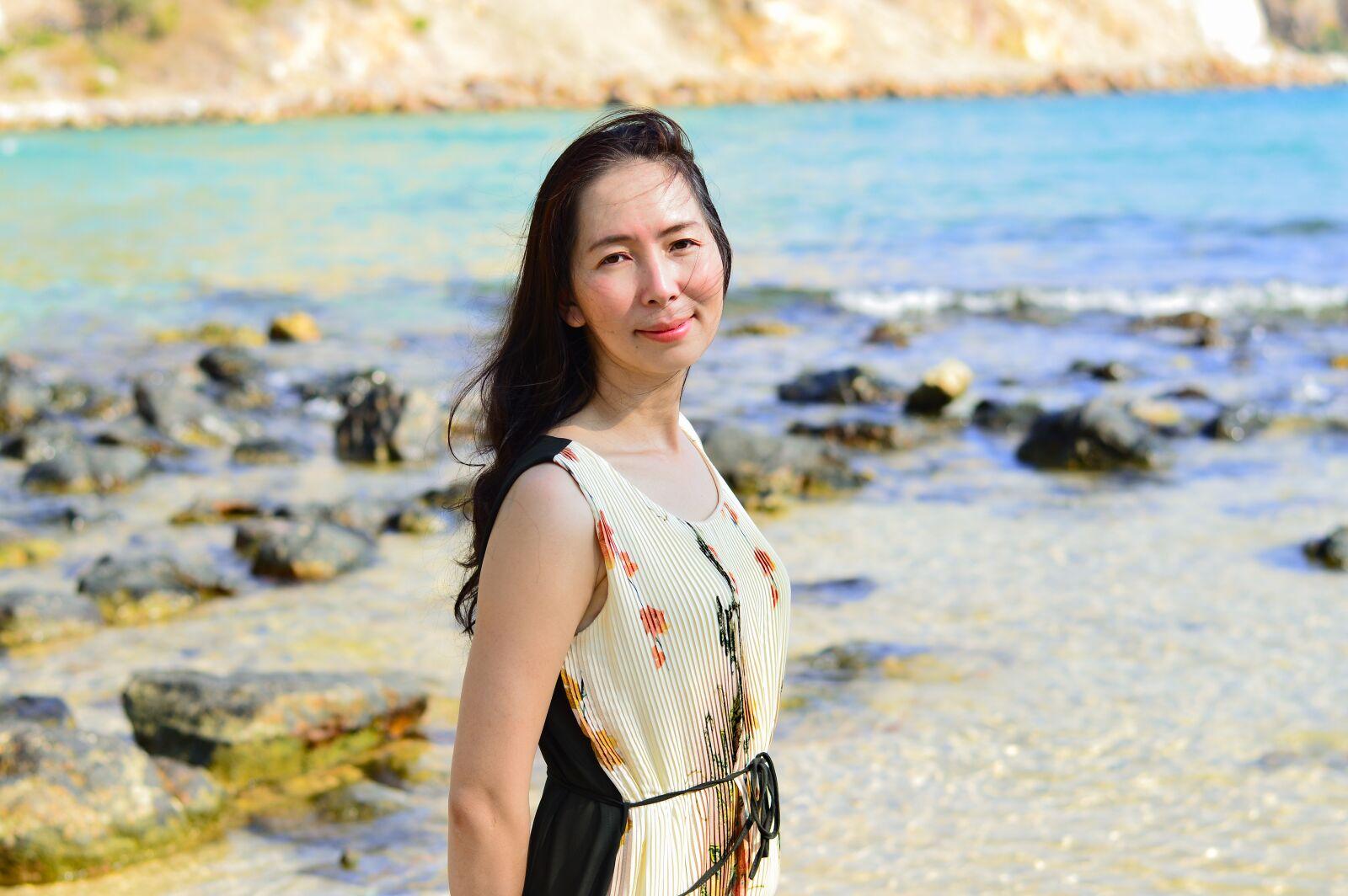 """Nikon D3200 sample photo. """"Nam du, beautiful girl"""" photography"""