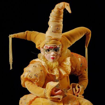 clown, toy, jester, Fujifilm X-T10
