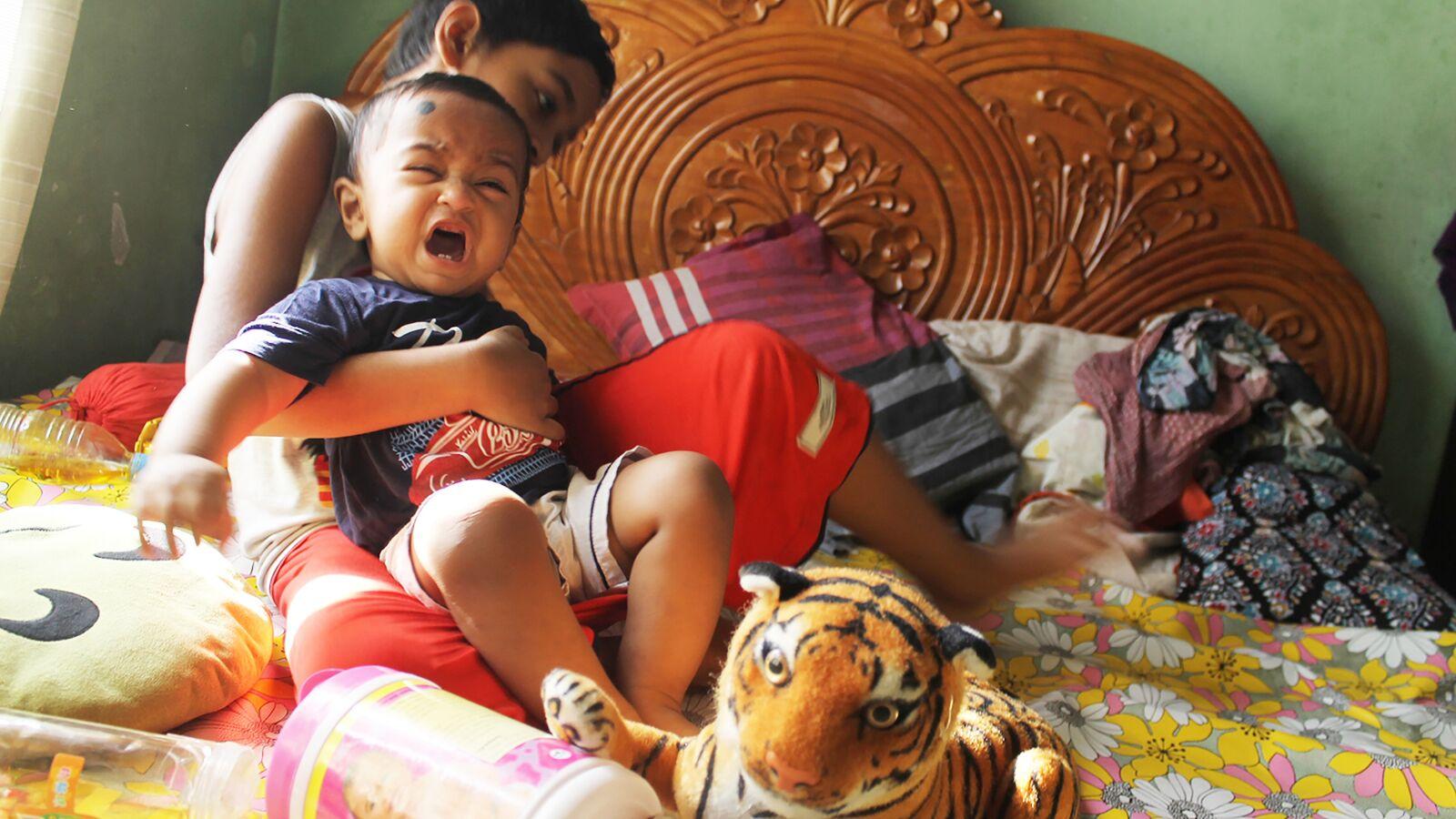 """Canon EOS 1100D (EOS Rebel T3 / EOS Kiss X50) sample photo. """"Sad, baby, boy"""" photography"""