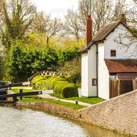 canal, kingswood junction, stratford-upon-avon, Canon EOS 650D