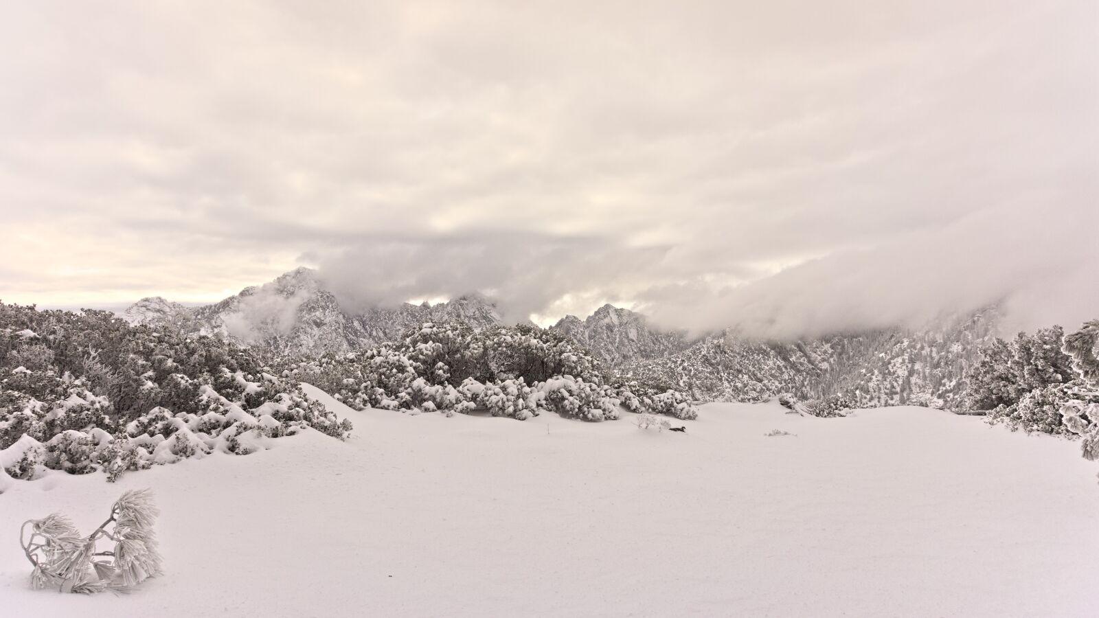 "Sony Alpha NEX-7 sample photo. ""Mountains, snow, alpine"" photography"