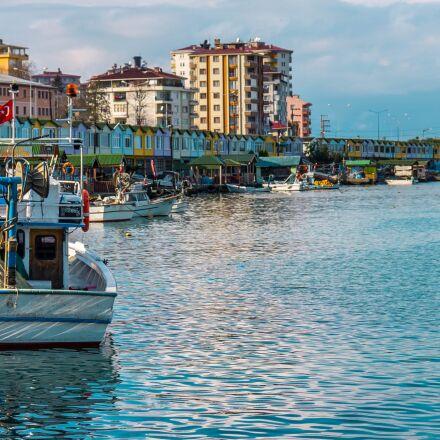 the fishermen, port, are, Pentax K-R