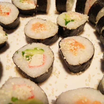 eat, sezam, sushi, Sony DSLR-A550