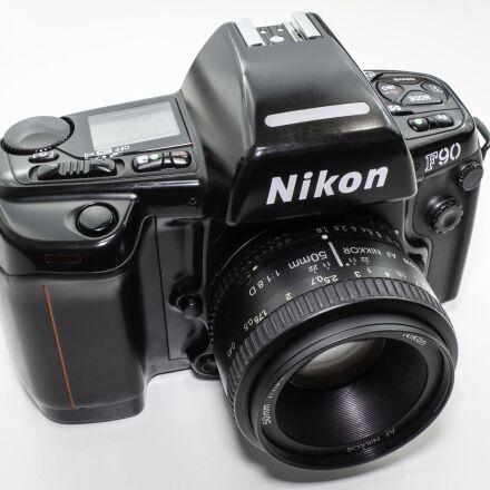 nikon, f90, film, Canon EOS M