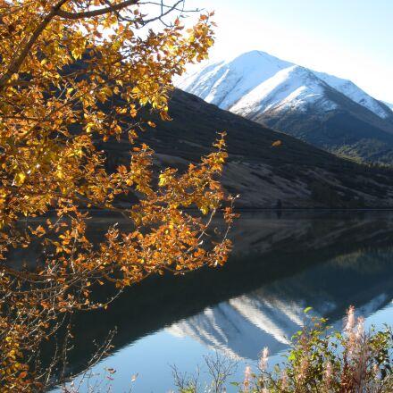 autumn, alaska, reflection, Canon POWERSHOT ELPH 100 HS