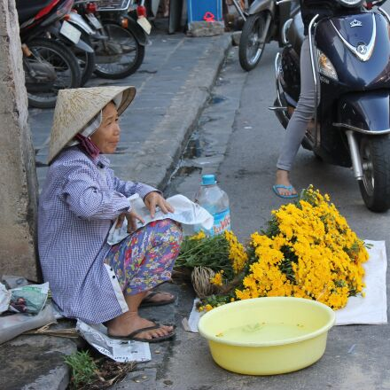 vietnam street vendors, hoi, Canon EOS KISS X50
