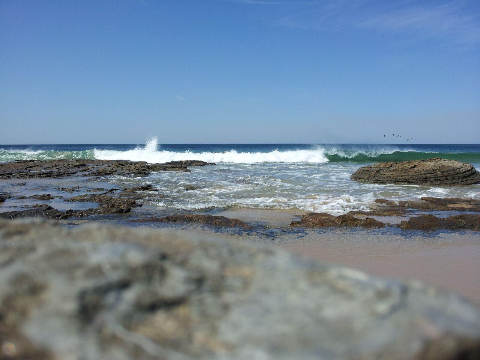 wave, ocean, beach