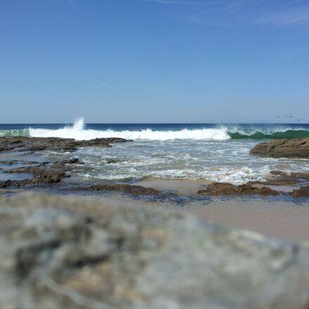 wave, ocean, beach, Samsung SGH-I997R